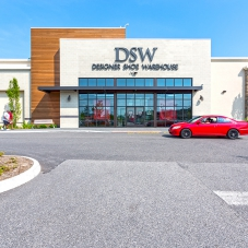 DSW Designer Shoe Warehouse storefront at Marketplace at Tech Center