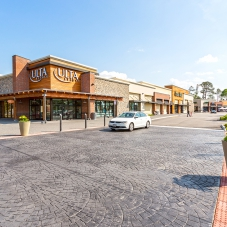 Ulta Beauty, Stein Mart and other shops' storefronts at Marketplace at Tech Center