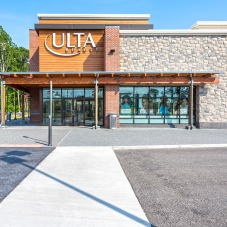 Ulta Beauty storefront at Marketplace at Tech Center