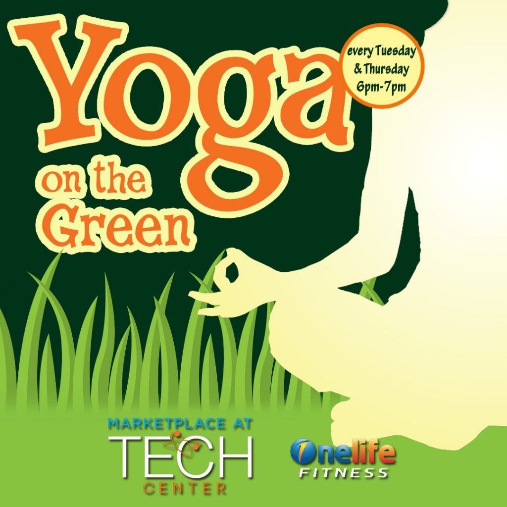Yoga on the Green event