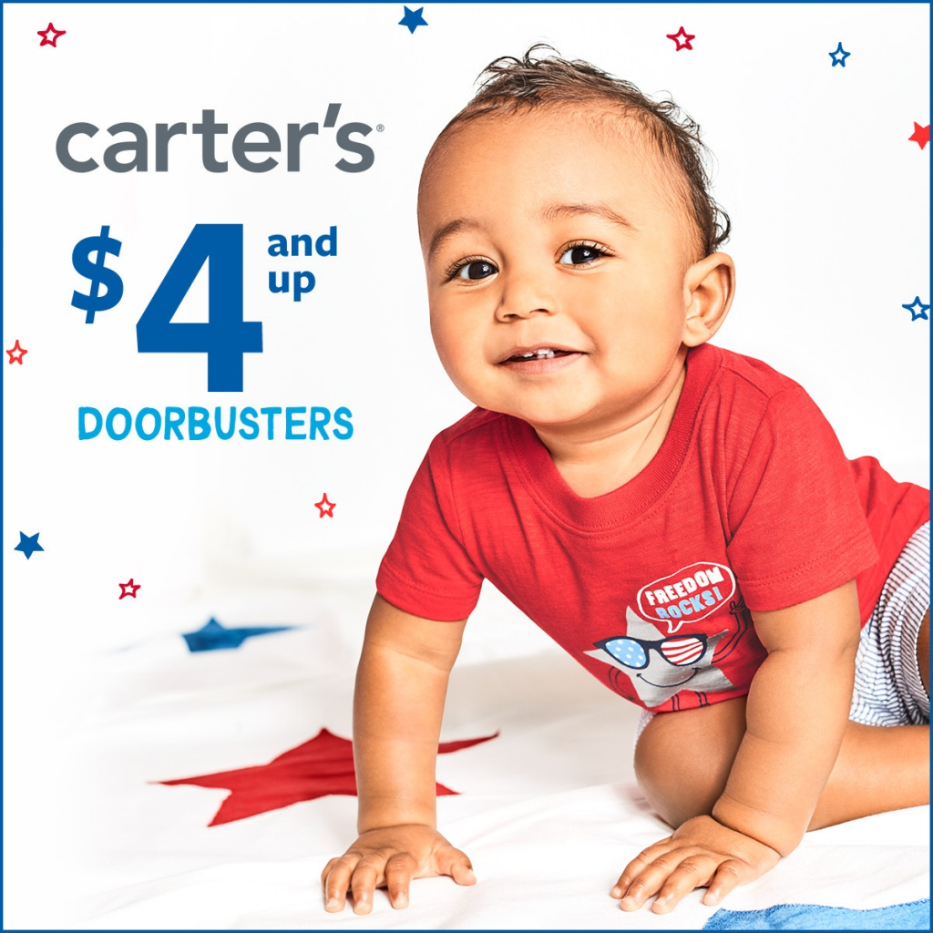 $4 and Up Doorbusters* at Carter's